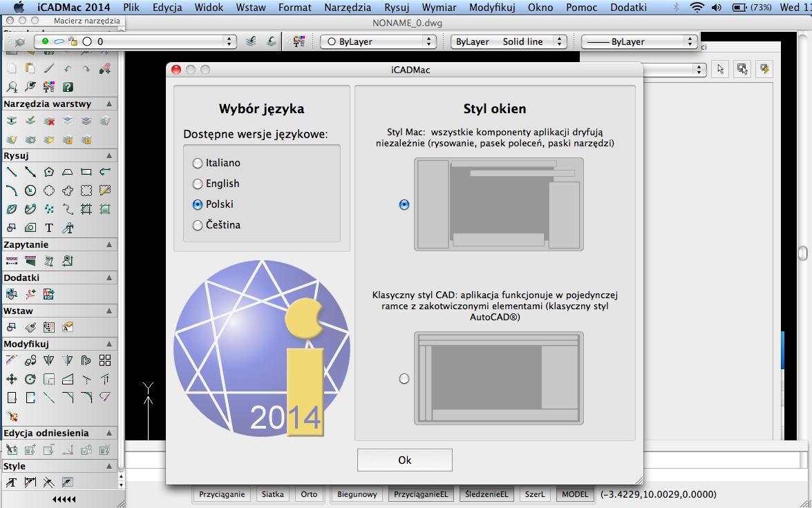 iCADMac - CAD dla Mac po polsku